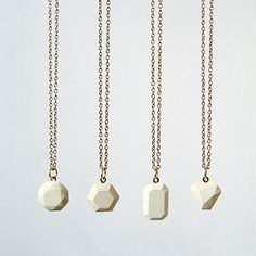 How to Make Dyed Concrete Gemstone Pendants — endless possibilities :)
