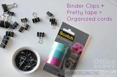 binder+clips+to+organized+cords.jpg 750×498 pixels