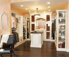 Walk-In Closet by Wellborn on HomePortfolio