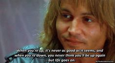 Blow Johnny Movie, Johnny Depp Movies, Best Movie Lines, Love Film, Charlie Chaplin, Film Music Books, Life Goes On, Real Quotes, Perfect Man