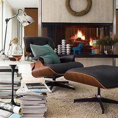 Replica Eames Lounge Chair | Available in http://www.emohdesign.com