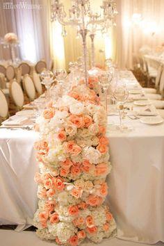 Christina & Anthony | Florals & Decor: Royal Orchid Florist | Pink Decor | Rentals: Luxe Rentals