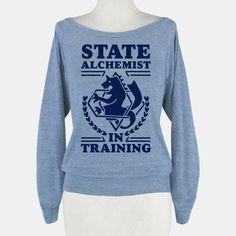 State Alchemist in Training   HUMAN   T-Shirts, Tanks, Sweatshirts and Hoodies