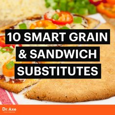 Eating These 10 Gluten-Free Grain and Sandwich Substitutes Can Help Improve Your Gut Health and Digestion by Dr. Wrap Recipes, Raw Food Recipes, Gluten Free Recipes, Healthy Recipes, Healthy Meals, Keto Recipes, Gluten Free Bakery, Paleo Bread, Gluten Free Grains