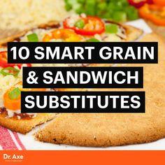 Sandwich substitutes - Dr. Axe