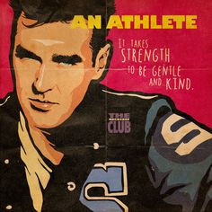 """John Hughes' """"The Reckless Club"""" Project by Butcher Billy. Morrissey as the Athlete"""