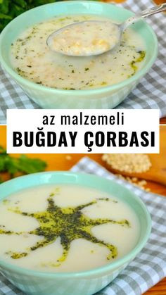 Buğday Çorbası (videolu) – Nefis Yemek Tarifleri Wheat Soup (with video) – Yummy Recipes Yummy Recipes, Soup Recipes, Delicious Desserts, Dinner Recipes, Yummy Food, Best Hummus Recipe, Wie Macht Man, Food Articles, Food Videos