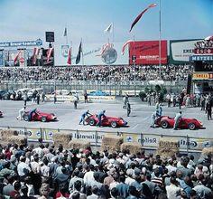 Nürburgring 1957. Scuderia Maserati