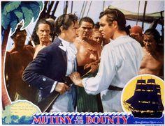 Clark Gable in Mutiny On The Bounty (1935)