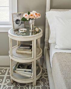 Trouvailles Pinterest: table de chevet Source: ladolcevitablog.com