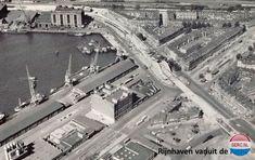 Rijnhaven Rotterdam (jaartal: 1960 tot 1970) - Foto's SERC Back In Time, Old City, Paris Skyline, Holland, Amsterdam, Past, City Photo, Europe