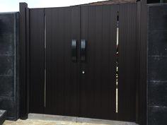 Gate Series — KunkelWorks Front Gate Design, Main Gate Design, Tall Cabinet Storage, Locker Storage, Front Gates, New Model, Home Decor, Front Door Design, Front Doors