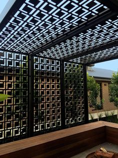 Plow and Hearth Retractable Roof Pergola