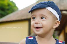Acompanhamento Infantil Fotografia em Sumaré SP Brasil Bebê Menininho Ensaio Externo