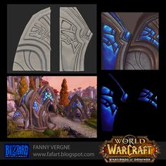 Polycount Forum - View Single Post - Texturing - Siege Of Orgrimmar - WOW