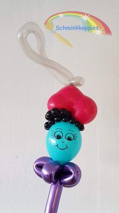Ballonnen Pietje  Schminkkoppies Mariëlle Heuft