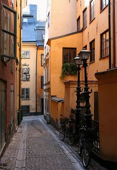 Stockholm, Sweden Love, love, love Old Town!