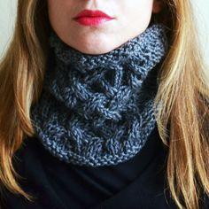 collo mod. GENNY grigio scuro (misto lana). di ceriscioc su Etsy