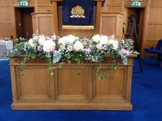 Posy Barn altar flowers