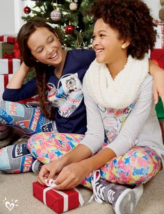 Our bright, colorful printed leggings and made-to-match tops just go together!