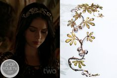 Reign: Season 1 Episode 3 Mary's Floral Headpiece | ShopYourTvShopYourTv