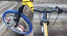 La roue qui transforme le vélo en modèle électrique