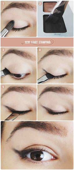 Soft Cat-Eye - 12 Different Eyeliner Tutorials You'll Be Thankful For | Makeup Tips & Tricks at http://makeuptutorials.com/12-different-eyeliner-tutorials-youll-thankful/