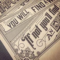 Polubienia: 276, komentarze: 27 – Typography :) ☕️✏️ (@tomasz_biernat) na Instagramie