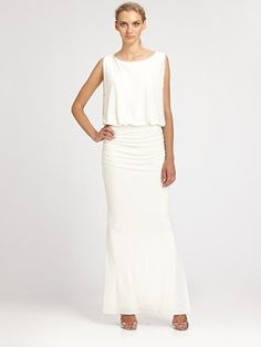 Laundry by Shelli Segal Beaded Gown