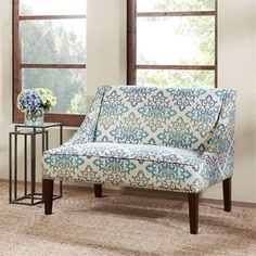 Shop for Madison Park Calla Scroll Floral Loveseat Settee. Get free shipping at Overstock.com - Your Online Furniture Outlet Store! Get 5% in rewards with Club O!
