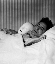 Jean Cocteau (photo by Berenice Abbott, 1927)