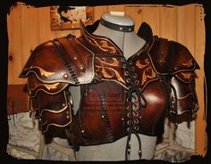 leather armor woman by ~Lagueuse on deviantART