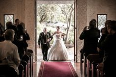 A beautiful photo from Apertura Photography in our Chapel at Potters Receptions, Warrandyte