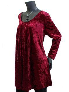 bcb300c59aedae Queen Crimson Velvet Top