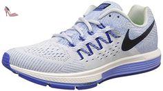 Nike Air Zoom Vomero 10, Chaussures de Running Compétition Femme, Bleu (Blue Tint/Black-RCR BL-Chlk BL), 37.5 EU