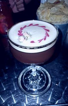 Mata Hari cocktail with Martini rosato