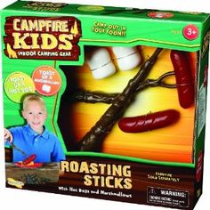 Roast up a marshmallow  Toast up a hot dog  Use with or without campfire (sold separately)  Durable plastic construction  Not for use with real heat