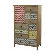 Powell Furniture Squiggly Dee High Chest