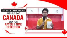 12th 2015 & 1 year Diploma Passout Got Canada Visa Best University, 1 Year, Congratulations, How To Apply, Canada, Student, Education, Teaching, Onderwijs