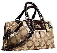 coach bag. Need something like this in my life