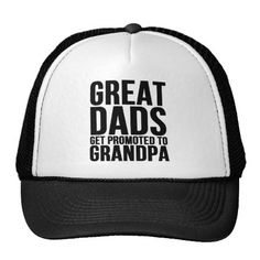 Great Dads Grandpa Trucker Hat