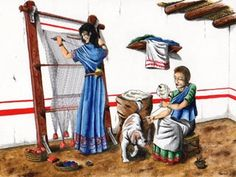 En el antiguo egipto se honraba y trataba con respeto a las mujeres ,se ocupaban el hogar ,llevaban las cuentas,conseguian alimento y tejian las telas para confeccionar la ropa