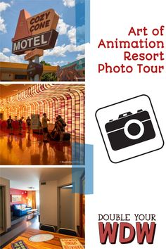 Get a photo tour of Disney's Art of Animation Resort. You'll see photos of the lobby area, the rooms, the resort grounds, the pool, and more. Check out this hotel before you decide to book! Disney | Disney World | Disney resorts | Art of Animation | Disney photos | Disney photography | Disney planning | Disney World planning | Disney vacation | Vacation photos | Disney bound | vacation photography Disney Value Resorts, Disney World Hotels, Disney World Parks, Disney World Planning, Disney World Vacation, Disney Vacations, Art Of Animation Rooms, Disney Art Of Animation, Disneyland Tips