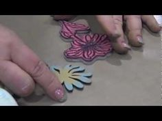 Wendy Vecchi Art Parts & Distress Paints - CHA Winter 2013