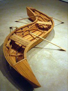 Sculpture by Kcho Modern Art, Contemporary Art, Bokashi, Cuban Art, Bizarre, Art Object, Wood Sculpture, Photomontage, Installation Art