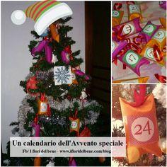 Un calendario dell'Avvento speciale | I fiori del bene Condividere una tradizione per un Natale davvero gioioso #homemade #christmas  #doityourself