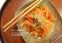 涼拌蘿蔔 무생채 by 韓國餐桌食譜、作法 | 韓國餐桌的多多開伙食譜分享
