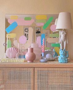 Pastel Decor, Pastel Home, Home Goods Decor, Home Decor Trends, Decor Ideas, Interior Pastel, Pastel Bedroom, Pastel Living Room, Cute Room Decor