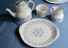 Vintage China Royal Doulton Galaxy Pattern by YoursOccasionally, $70.00