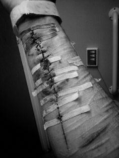 emo cuts on arm bleeding - Google Search